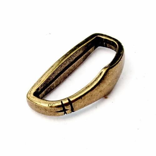 Mittelalter Gürtelschlaufe 3 cm -Zubehör für mittelalterliche Gürtel für Reenactment und LARP