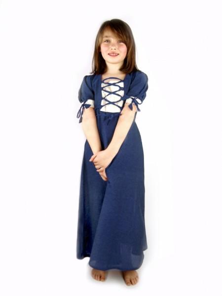 Sommerliches Mädchen Kleid - Kostüm Gewand für Mittelalter, Larp & Reenactment Kinder