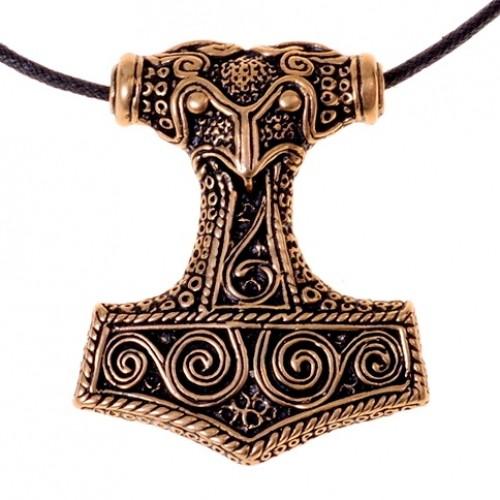 Schonenhammer Amulett - Bronze Anhänger Replik