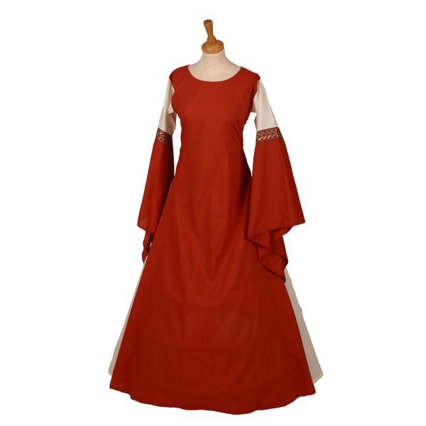 Mittelalterkleid Calla 100 % Leinen Maßanfertigung