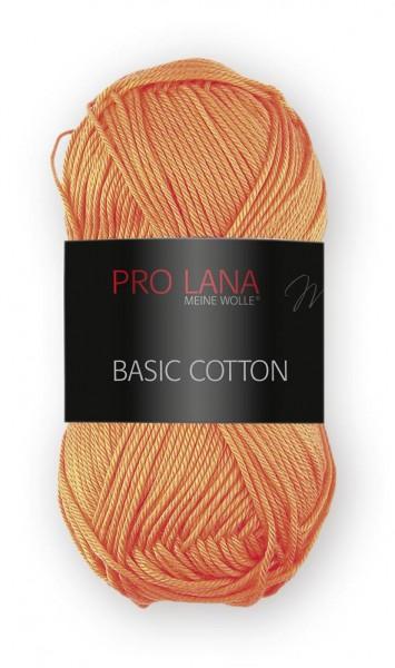 Basic Cotton Farbe: 28 orange von Pro Lana 100 % Baumwolle