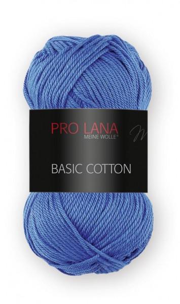 Basic Cotton Farbe: 51 meerblau von Pro Lana 100 % Baumwolle