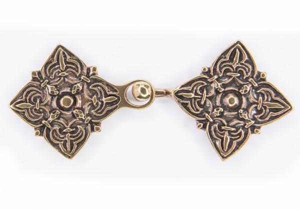 Kaftan Gewandschließe der Kruskaya Rus für historische mittelalterliche Kostüme und Larp Gewandungen