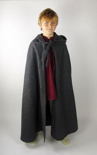 Umhang aus Wolle für Kinder - Gewandung für Mittelalter und Larp