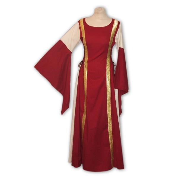 Mittelalterkleid Emily 100 % Leinen Gewand auf Maß