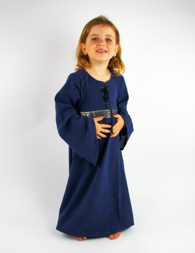 Mädchen Kleid - Kostüm Gewand für Mittelalter, Larp & Reenactment Kinder