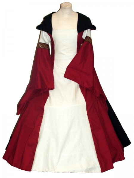 Mittelalterkleid Dagma 100 % Leinen Maßanfertigung