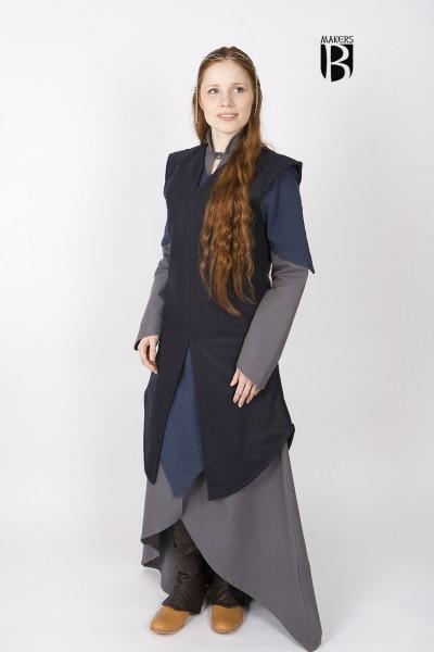 Tunika Meril in Blau - Miss Viscid Designs von Burgschneider