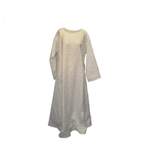 Damen Hemdelin, lang - 100 % Baumwolle - Mittelalter und LARP Gewand Maßanfertigung