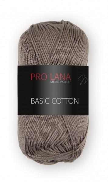 Basic Cotton Farbe: 18 dunkle taupe von Pro Lana 100 % Baumwolle