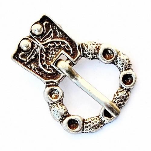 Mittelalterliche Schnalle 2 cm -Zubehör für mittelalterliche Gürtel für Reenactment und LARP