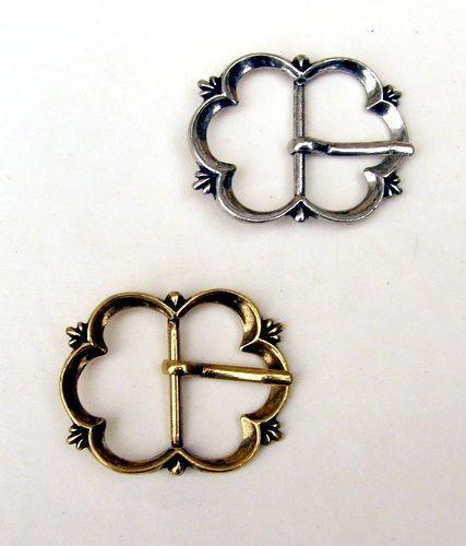 Spätmittelalter Schnalle 3 cm -Zubehör für mittelalterliche Gürtel für Reenactment und LARP