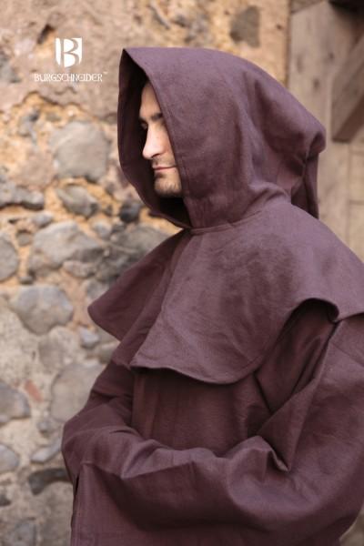 Mönchskutte Franziskus, Braun Mittelalterliches vom Burgschneider
