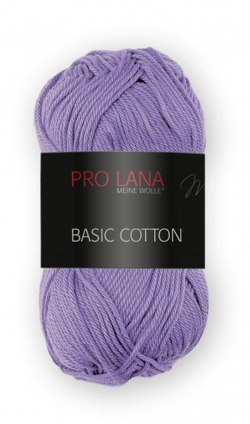 Basic Cotton Farbe: 41 lila von Pro Lana 100 % Baumwolle