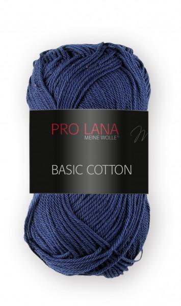 Basic Cotton Farbe: 50 marineblau von Pro Lana 100 % Baumwolle