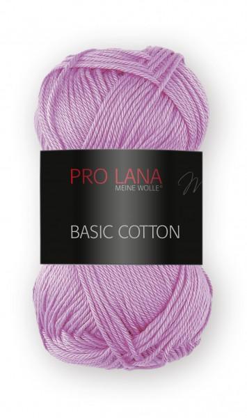 Basic Cotton Farbe: 37 blasslila von Pro Lana 100 % Baumwolle